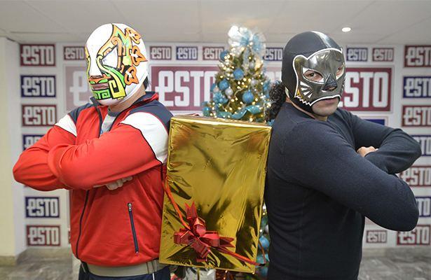 Guerrero Maya Jr. The Panther y Guerrero Maya Jr buscan ser campeones de la Arena Coliseo