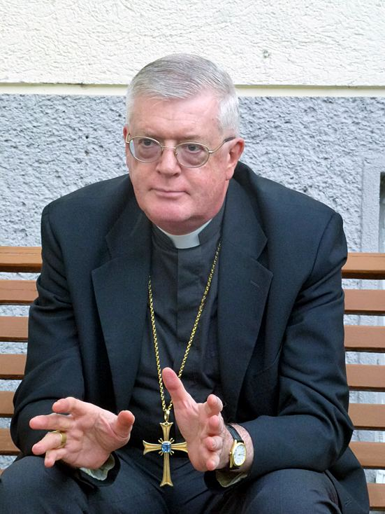 Guido Pozzo Besuch von Erzbischof Guido Pozzo Benediktinerinnen der