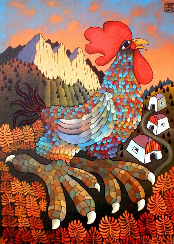 Guido Vedovato Art Naive by Guido Vedovato Gallery of naif paintings and