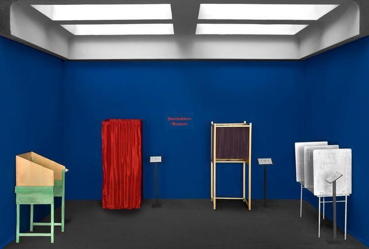 Guillaume Bijl Guillaume Bijl Antwerpen 1946 Stemhokkenmuseum 2012