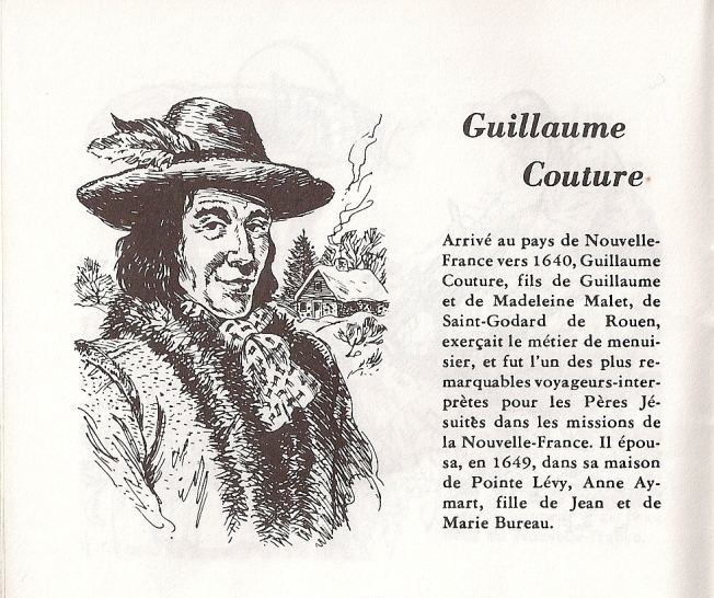 Guillaume Couture famille Couture Nos anctres