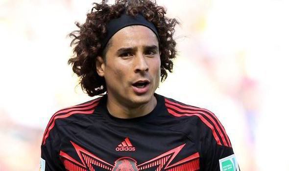 Guillermo Ochoa Liverpool step up chase for Guillermo Ochoa as Pepe Reina