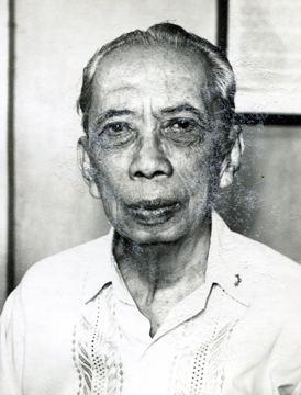 Guillermo Tolentino Retrato Photo Archive of the Filipinas Heritage Library