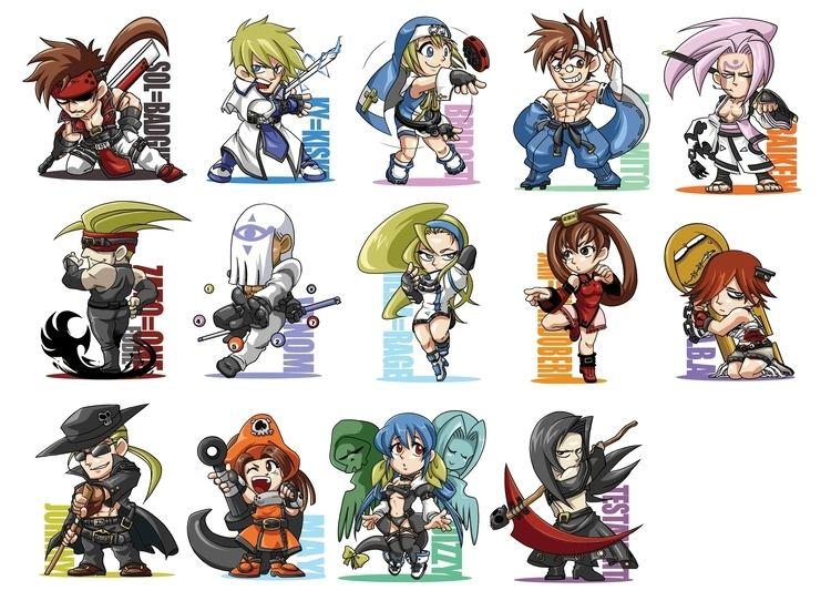 Guilty Gear May Guilty Gear Zerochan Anime Image Board