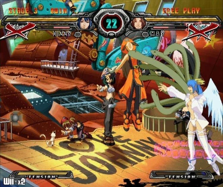Guilty Gear X2 updated versions Guilty Gear XX Accent Core Plus GameSpot
