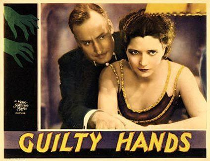 Guilty Hands Lauras Miscellaneous Musings Tonights Movie Guilty Hands 1931