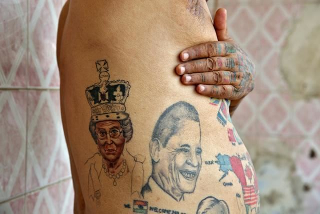 Guinness Rishi Guinness Rishi Man removes all teeth gets over 500 tattoos for