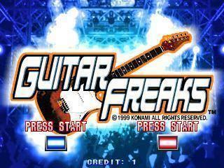 Guitar Freaks Guitar Freaks Videogame by Konami