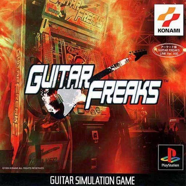 Guitar Freaks Guitar Freaks Box Shot for PlayStation GameFAQs