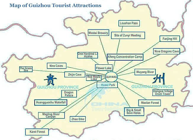 Guizhou Tourist places in Guizhou
