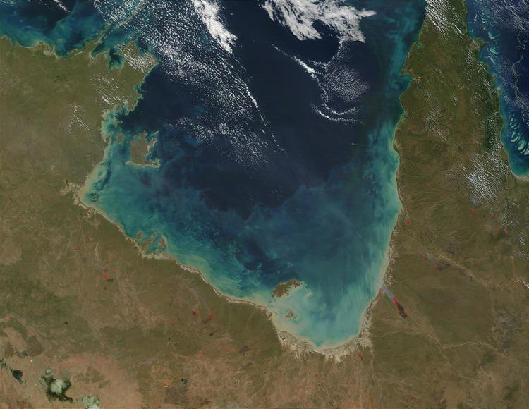 Gulf of Carpentaria eoimagesgsfcnasagovimagesimagerecords550005