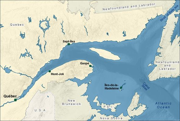 Gulf of Saint Lawrence wwwqcdfompogccagolfegulfimagescompletejpg