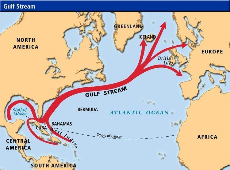 Gulf Stream How the Gulf Stream Effects Iceland39s Weather