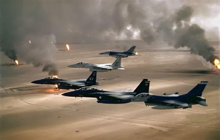 Gulf War Gulf War air campaign Wikipedia