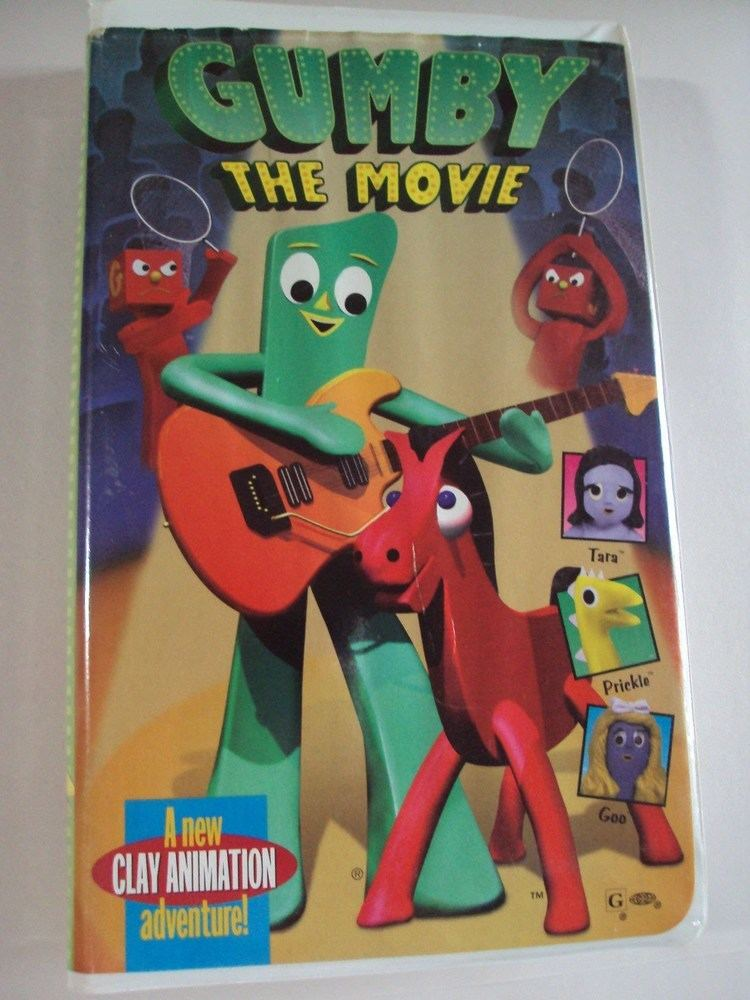 Gumby: The Movie Opening To GumbyThe Movie 1995 VHS YouTube