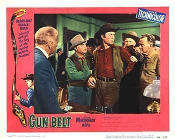 Gun Belt (film) Gun Belt movie posters at movie poster warehouse moviepostercom