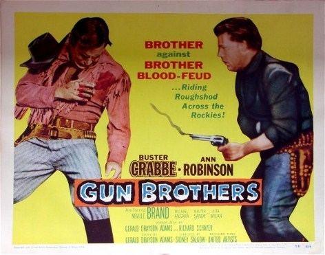Gun Brothers Gun Brothers 1956