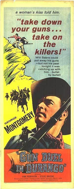 Gun Duel in Durango Gun Duel In Durango movie posters at movie poster warehouse