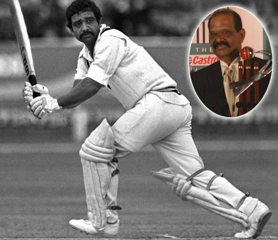 Gundappa Viswanath (Cricketer) playing cricket