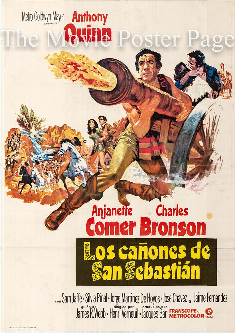 Guns for San Sebastian Guns for San Sebastian 1968 Anthony Quinn Spanish onesheet F