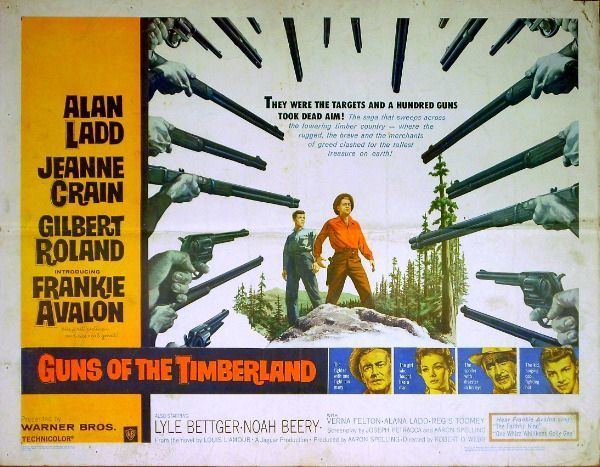 Guns of the Timberland Jeff Arnolds West Guns of the Timberland Warner Bros 1960 One