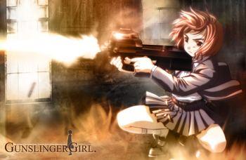 Gunslinger Girl Gunslinger Girl Manga TV Tropes