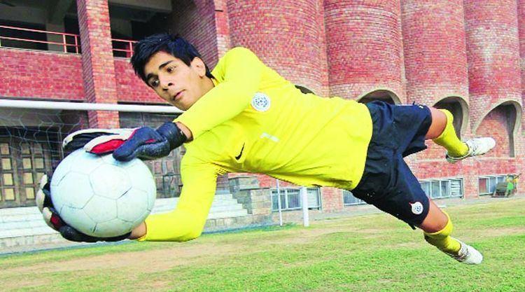 Gurpreet Singh (footballer) Mohali footballer plays for toptier European side The