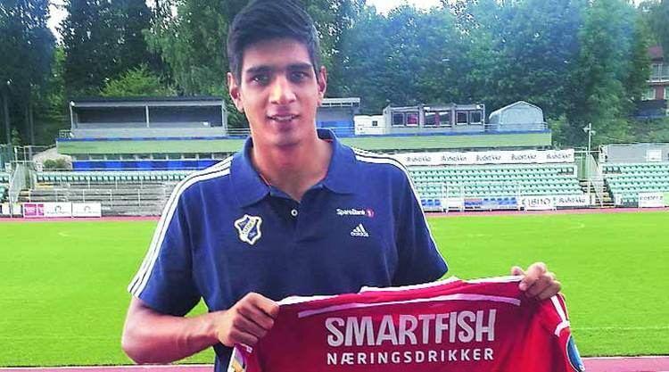 Gurpreet Singh (footballer) After first team debut Gurpreet Singh Sandhu raises the