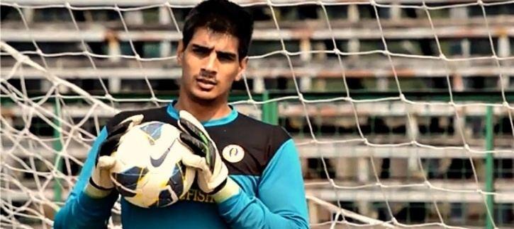 Gurpreet Singh (footballer) Gurpreet Singh Sandhu Is The First Indian Footballer In 79