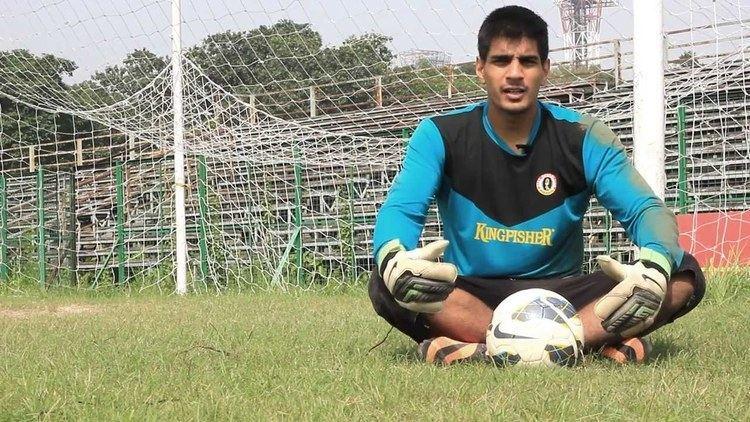 Gurpreet Singh (footballer) Gurpreet Singh Sandhu becomes first Indian since 1936 to