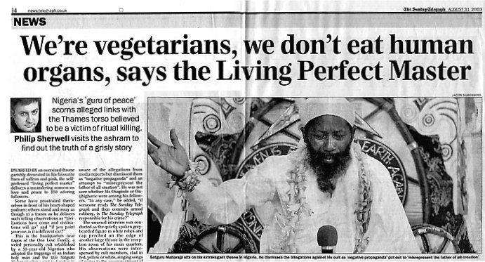 Guru Maharaj Ji (Nigeria) Rawatism39s Amazing Offspring John Yarr Mohammed Saib