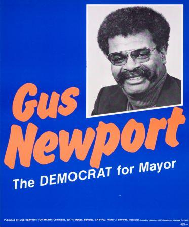 Gus Newport berkeleycampaignarthomesteadcomGusNov79Ljpg