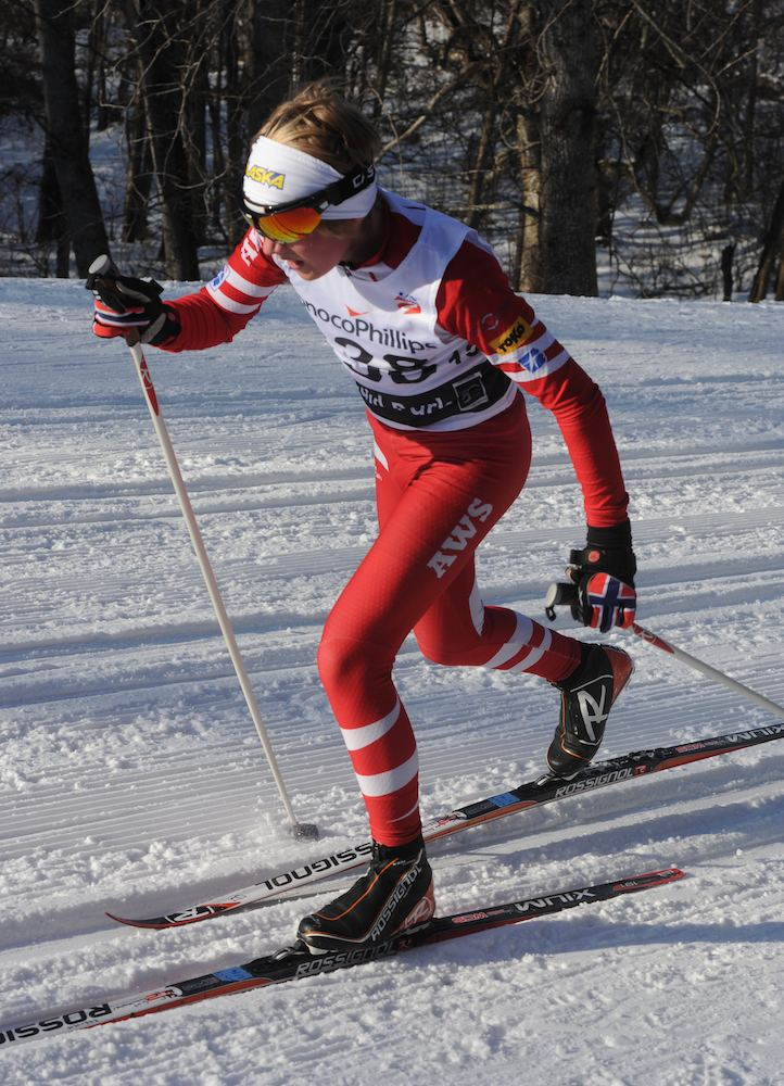 Gus Schumacher Racing with Olympians Anchorages Gus Schumacher 13 Youngest at
