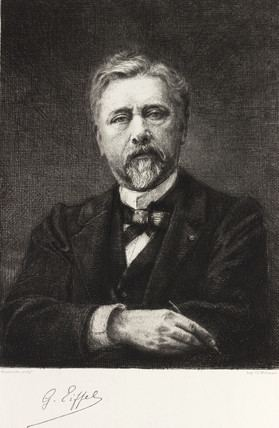 Gustave Eiffel Gustave Eiffel French civil engineer c 1900 by Marzocchi at