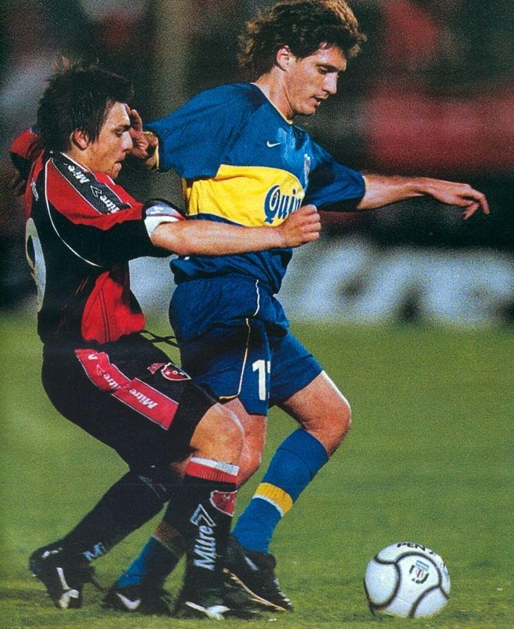 Gustavo Barros Schelotto Boca Juniors 2000 Gustavo Barros Schelotto Boca Juniors vos