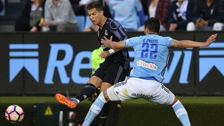 Gustavo Cabral Cristiano Ronaldo Accuses Celta Vigo Defender Gustavo Cabral of