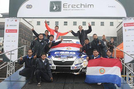 Gustavo Saba Rally de Erechim El tri para Gustavo Saba Fotomotor