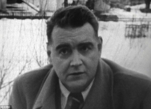 Guy Burgess Lost39 interview with Cambridge spy Guy Burgess filmed in
