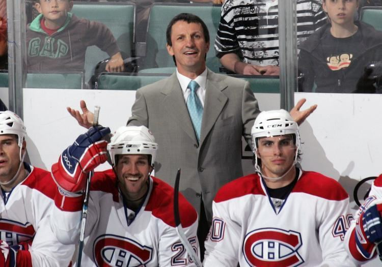 Guy Carbonneau Canadiens Fire Carbonneau GM Gainey Returns Behind Bench