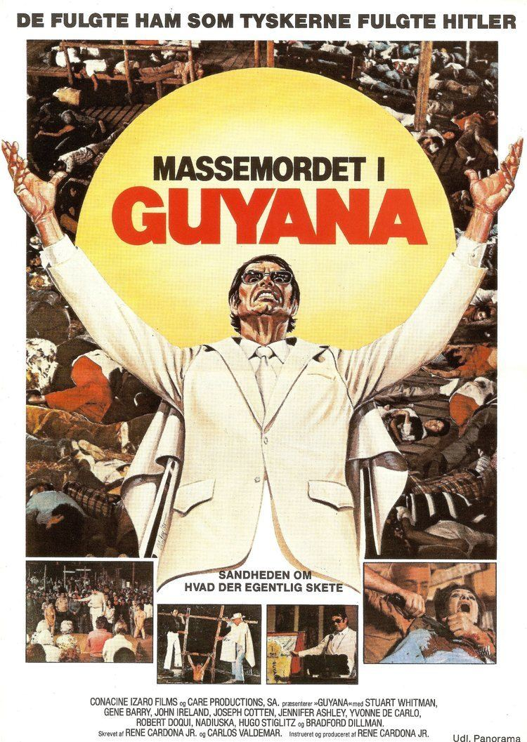 Guyana: Crime of the Century Poster for Guyana Cult of the Damned Guyana el crimen del siglo