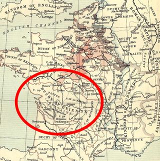 Guyenne Guyenne Historic Places and Locations