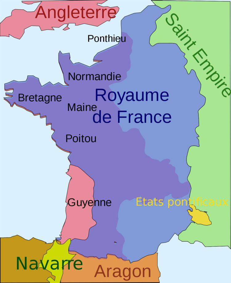 Guyenne Gujenna Wikipedia wolna encyklopedia