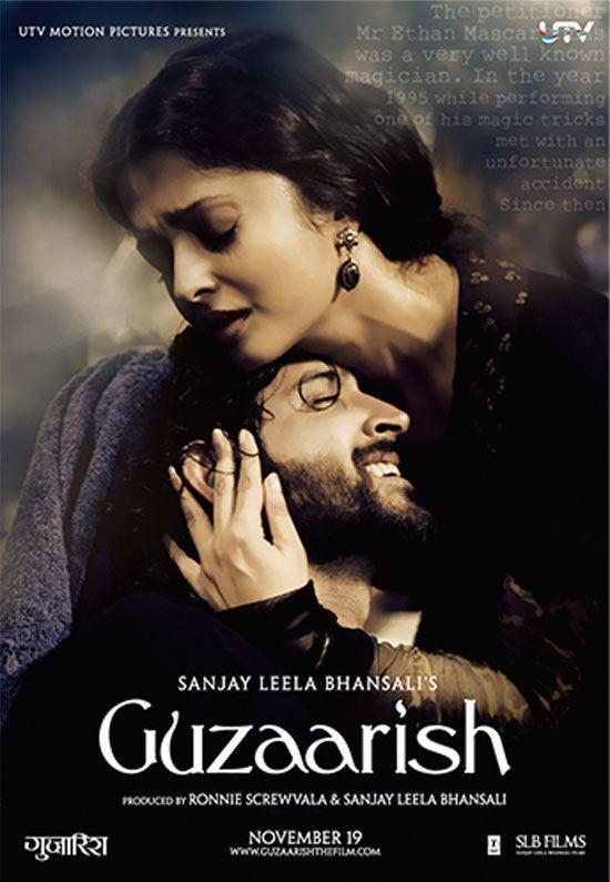 Guzaarish Download Guzaarish 2010 Movie HD Official Poster 1 BollywoodMDB
