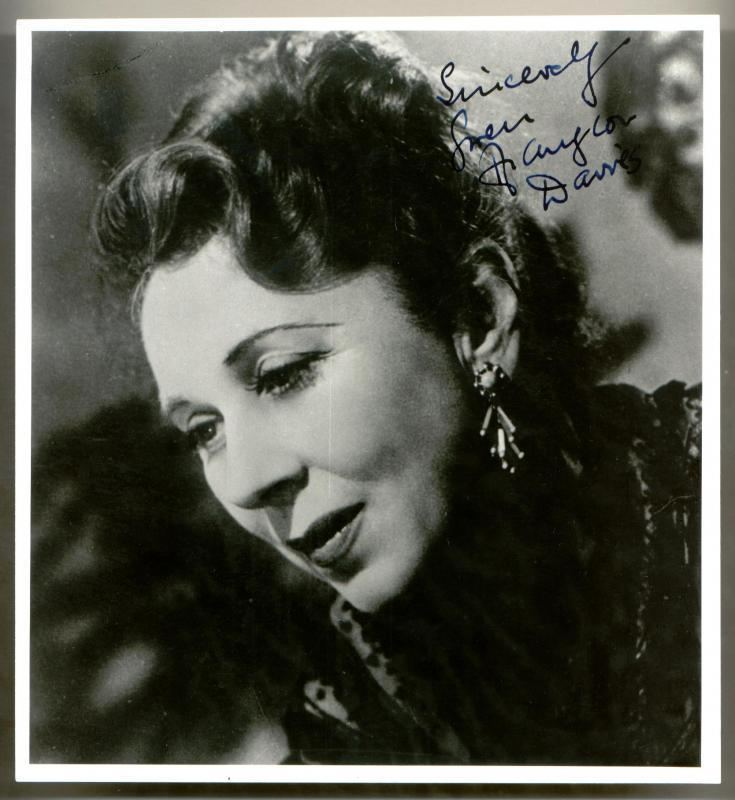 Gwen Ffrangcon-Davies Clickautographs autographs Gwen FfrangconDavies