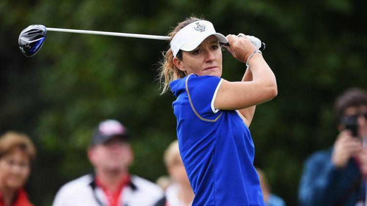 Gwladys Nocera Gwaldys Nocera oneshot clear at the Ladies French Open Golf News