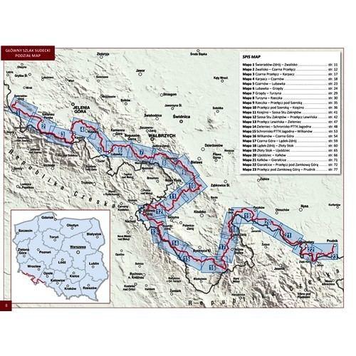 Główny Szlak Sudecki Gwny Szlak Sudecki przewodnik tylko 3390 z w ArtTravelpl