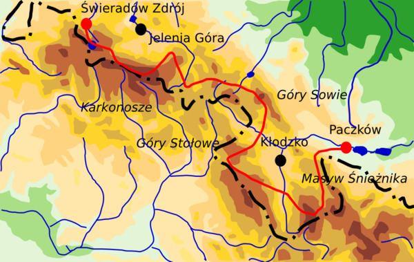 Główny Szlak Sudecki Gwny Szlak Sudecki Wikipedia