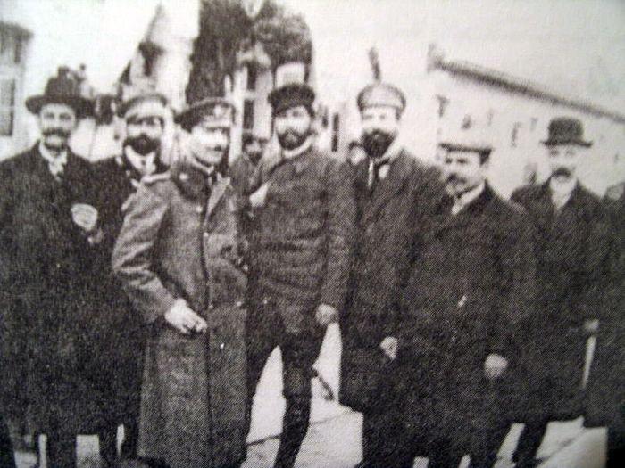 Gyorche Petrov FileGyorche Petrov Todor Alexandrov Andrey Lyapchev Simeon Radev