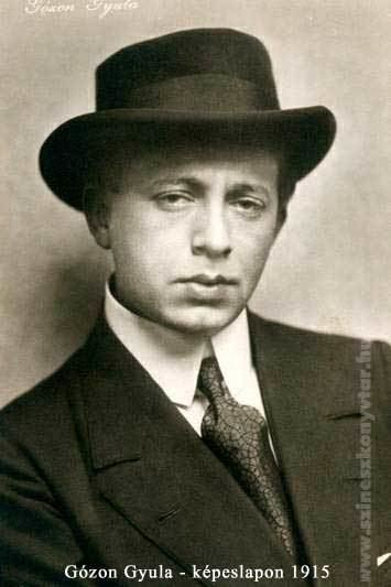 Gyula Gózon Gzon Gyula Fot