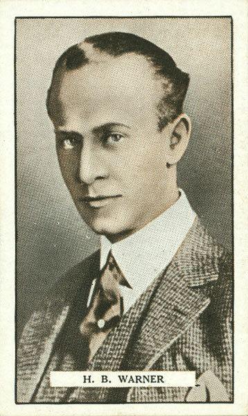 H. B. Warner HB Warner